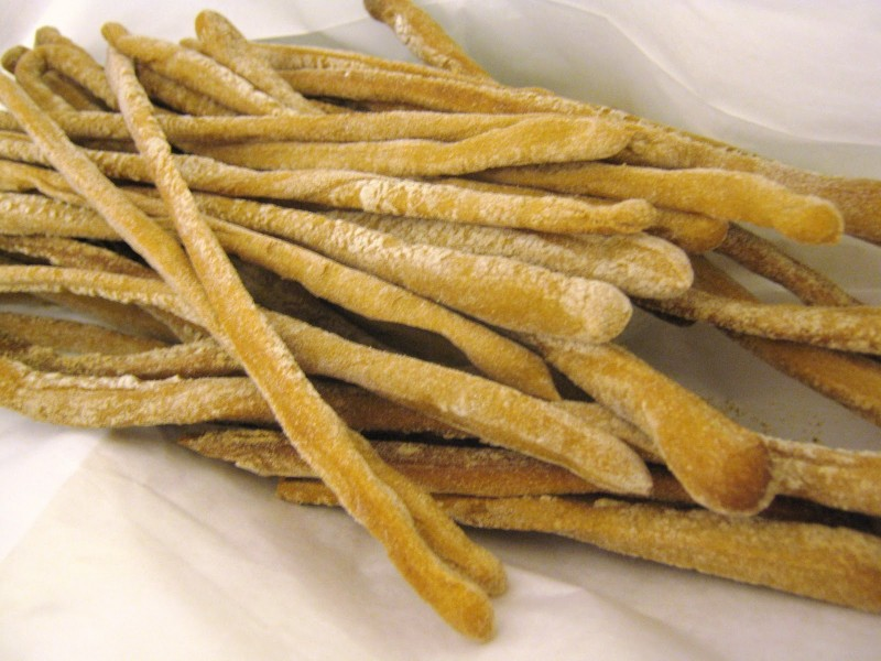 Grissini Torinesi (Breadsticks from Torino )