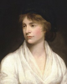 How to pronounce Mary Wollstonecraft - Portrait by John Opie