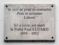 How to pronounce Paul Éluard - Photo by Groume