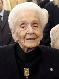 How to pronounce Rita Levi-Montalcini - Photo by Presidenza della Repubblica