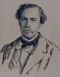 How to pronounce Jules de Goncourt - Portrait by Ernst Friedrich von Liphart