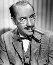How to pronounce Groucho Marx - Photo by ABC Photo