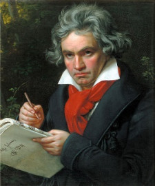 How to pronounce Ludwig van Beethoven - Portrait by Joseph Karl Stieler