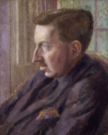 How to pronounce Edward Morgan Forster - Portrait by Dora Carrington