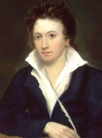 How to pronounce Percy Bysshe Shelley - Portrait by Alfred Clint