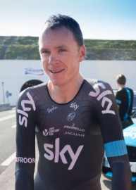 How to pronounce Chris Froome - Photo by Jaguar MENA