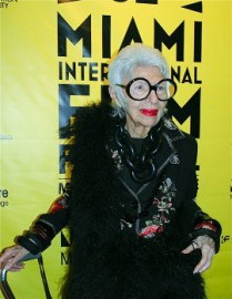 How to pronounce Iris Apfel - Photo by MiamiFilmFestival
