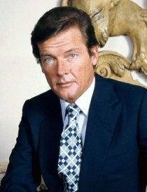 How to pronounce Roger Moore - Photo by Allan Warren