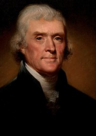 How to pronounce Thomas Jefferson -  Portrait by Rembrandt Peale