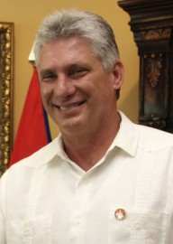 How to pronounce Miguel Díaz-Canel - Photo by Presidencia El Salvador