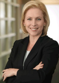 How to pronounce Kirsten Gillibrand - Photo by Senator Gillibrand's official 2010 campaign Flickr account