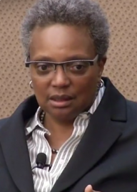 How to pronounce Lori Lightfoot - Photo by MacLean Center