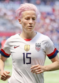 How to pronounce Megan Rapinoe - Photo by Jamie Smed