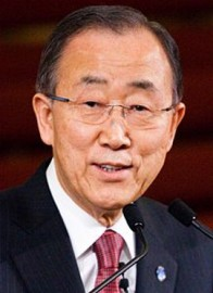 How to pronounce Ban Ki-moon - Photo by Chatham House