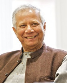 How to pronounce Muhammad Yunus - University of Salford Press Office