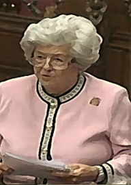 How to pronounce Betty Boothroyd - Photo by Robin S. Taylor