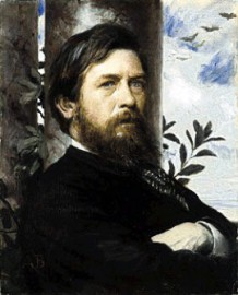 How to pronounce Arnold Böcklin - Self portrait