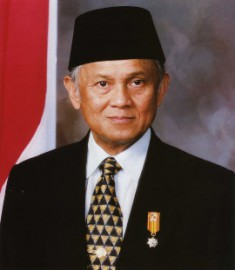How to pronounce Jusuf Habibie - Photo by Republic of Indonesia