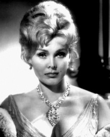 How to pronounce Zsa Zsa Gabor
