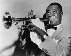 How to pronounce Louis Armstrong - Photo by World-Telegram